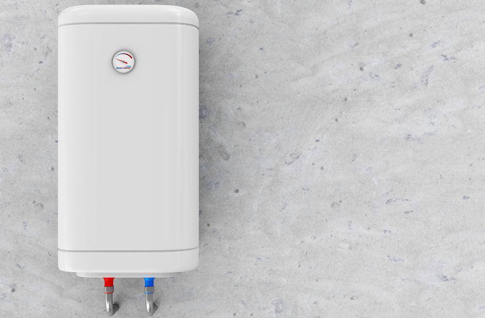 scaldabagno elettrico con bolier da 80 litri installato a parete