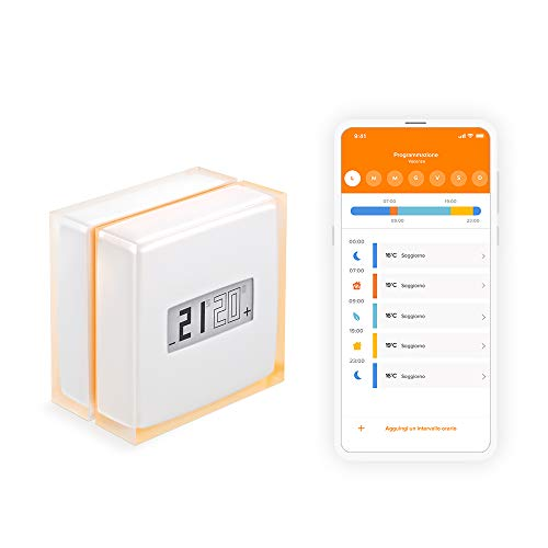 Termostato Digitale Wi-fi Netatmo NTH01-IT-EC