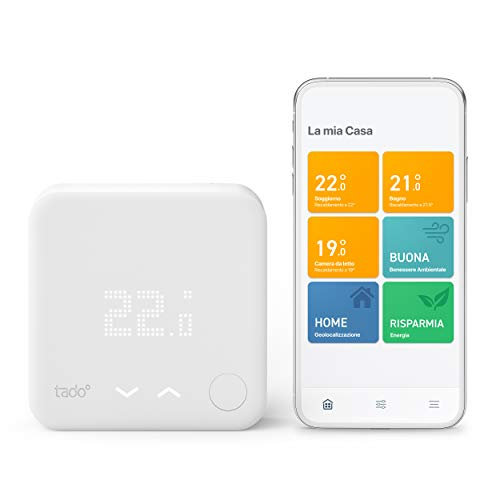 Termostato Digitale Wi-fi Tado° Kit di Base V3+
