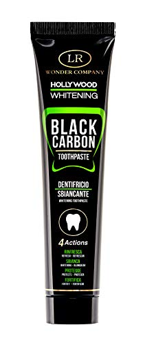 Dentifricio Nero Hollywood Whitening Black Carbon