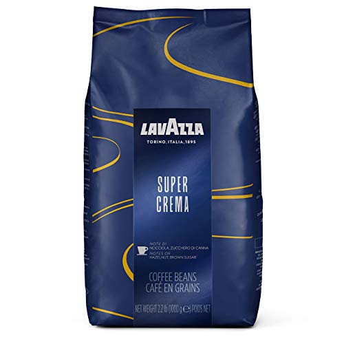Caffè in grani Lavazza Super Crema