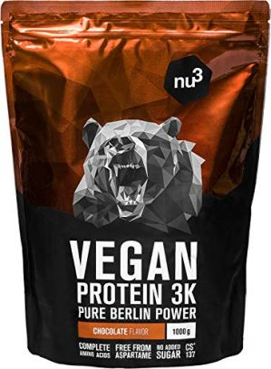 Proteine in Polvere Nu3 3K Cioccolato